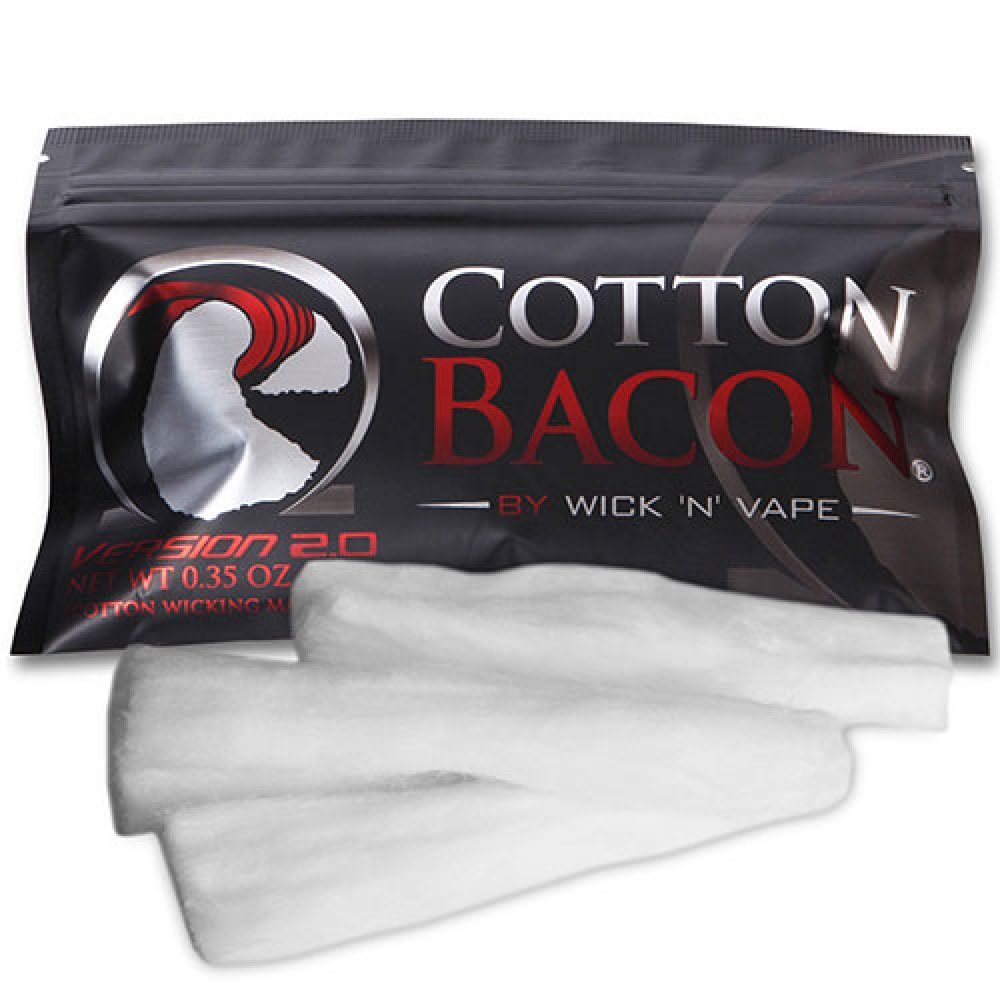Cotton Bacon v2 by wick n wape ecigg city stockholm vapeshop