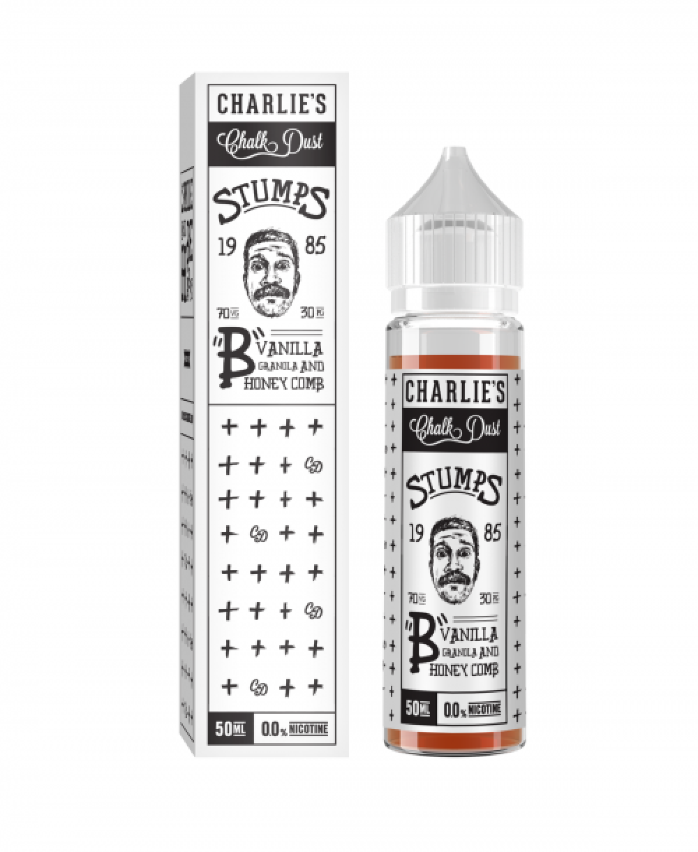 Vanilla Granola and Honey Comb Charlie's Chalk Dust Ejuice