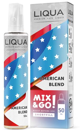 American Blend Mix & Go Shortfill Ejuice