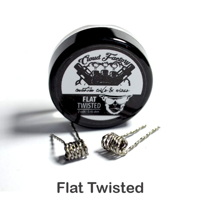 Cloud Factory Coils Flat Twisted